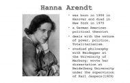 هانا آرنت، کارل یاسپرس و مسئولیت سیاسی