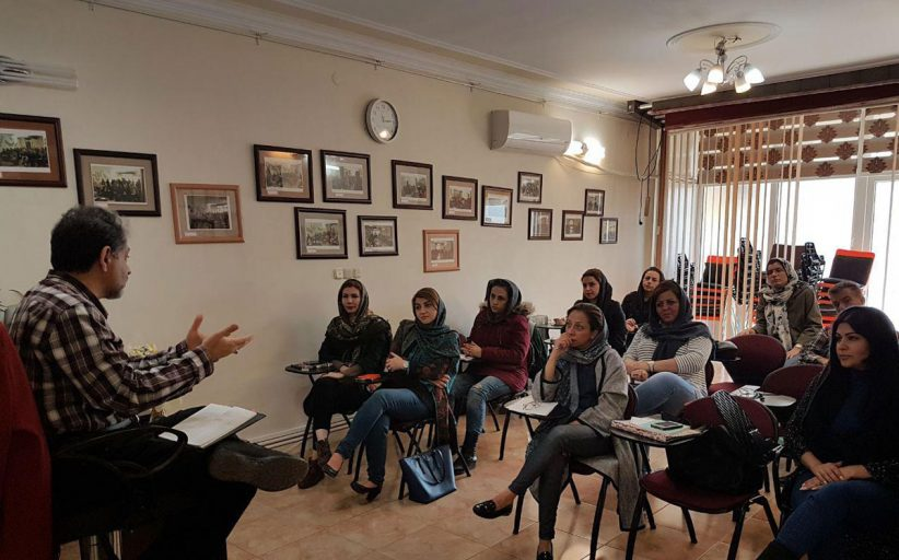 تصاویر کلاس هم اندیشی با مولانا