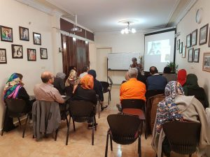 کلاس سکسولوژی در موسسه آفتاب مهر - آذر 1396