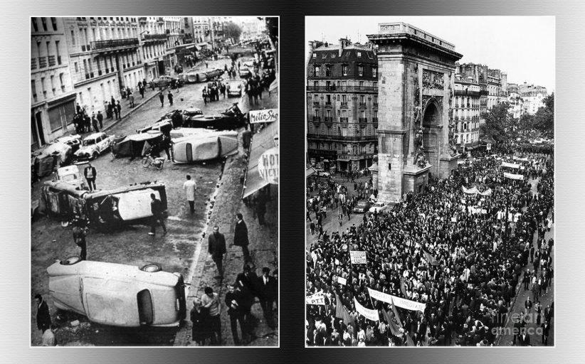 جنبش دانشجویی کارگری مه ۱۹۶۸ فرانسه